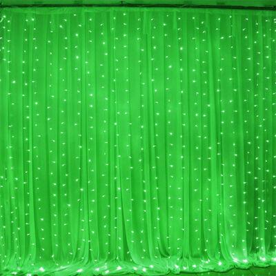 LED záves 2x2m zelený