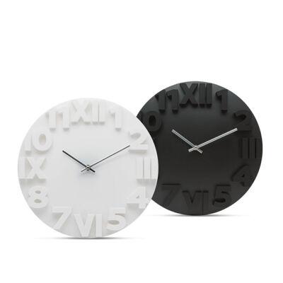 Nástenné hodiny s 3D číslicami