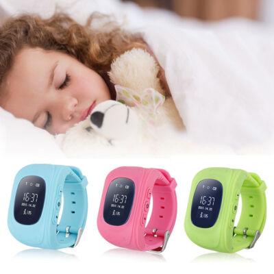 GPS hodinky pre deti s on-line sledovacím serverom