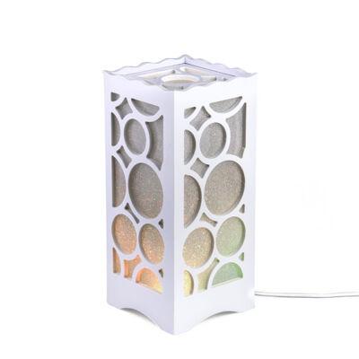 RGB LED stolná lampa s diaľkovým ovládačom viaceré farby