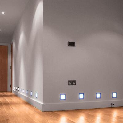 LETI 100 SQUARE štvorcová zapustená lampa
