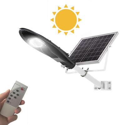 Solárna LED lampa na vonkajšie použitie diaľkové ovládanie 30W a 50W