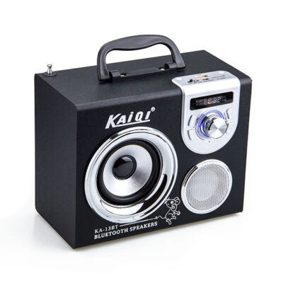 Bluetooth prenosný multimedia prehrávač MP3 KA-13BT MP3 USB FM rádio TF