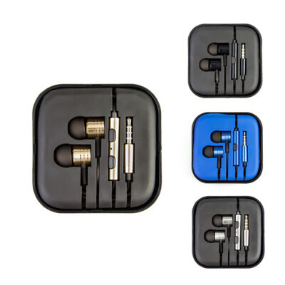In Ear drôtové slúchadlá do uší vo viacerých farbách