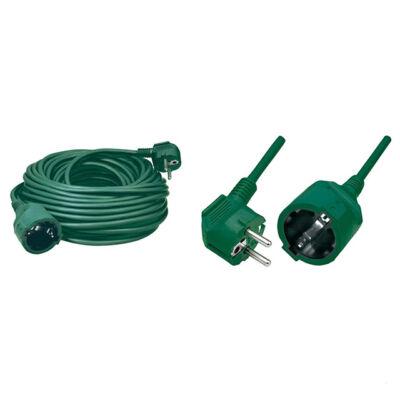 Predlžovací kábel zelený 10m