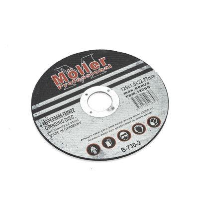 Möller rezný kotúč do kovu 125x1.0x22.23mm
