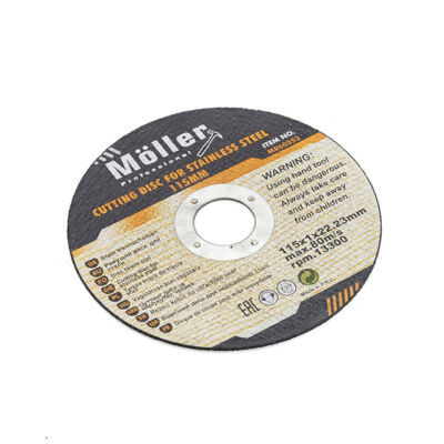 Möller kotúč na rezanie ocele 115x1.0x22.23mm