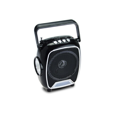 FM Rádio USB a SD čítačka s veľkou lampou