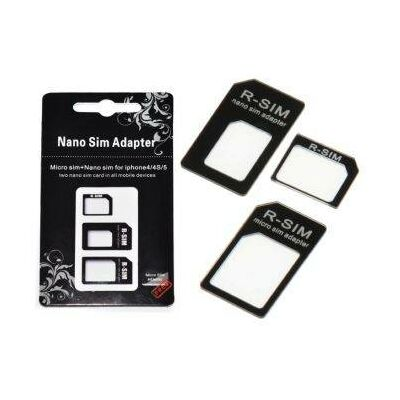 6a3468ef5a157 Adapter Nano micro na SIM kartu - 3 v 1 + kľúč - Príslušenstvo k ...