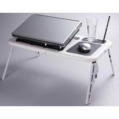 Stolík na notebook so vstavaným usb ventilátorom