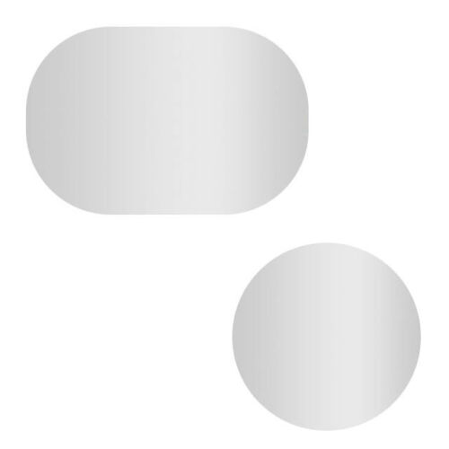 Ochranná fólia proti zahmleniu na spätné zrkadlo do auta 2ks
