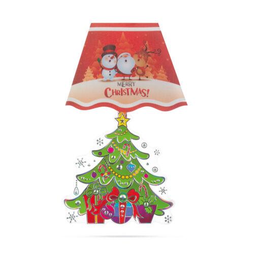 Vianočná LED nálepka 17x28cm 58257A