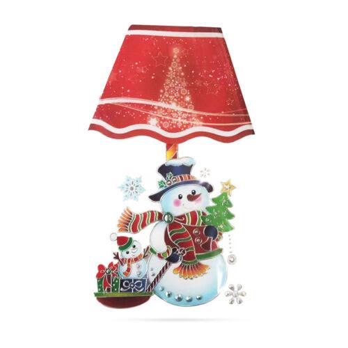 Vianočná LED nálepka 17x28cm 58257B