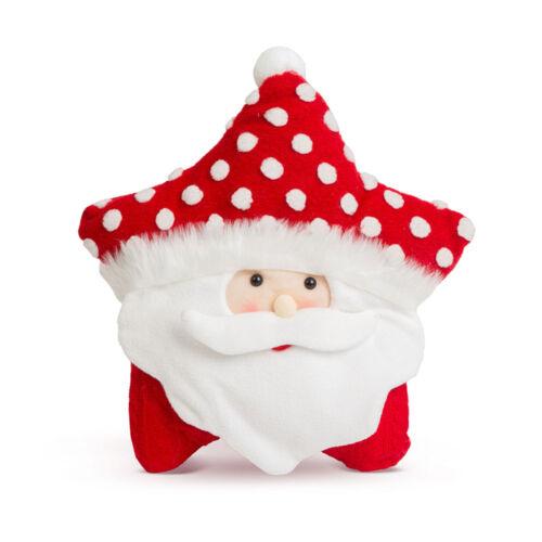 Vianočný 3D dekoratívny vankúš mikuláš 35 x 42 cm 58262A