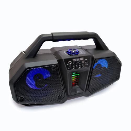 Bluetooth Prenosný multimedia prehrávač 10W MP3 USB FM rádio TF ZQS-4216