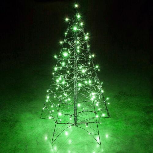 LED svetelné reťaze 140LED zelený kábel zelená farba