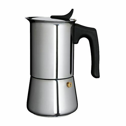Best nerezový inox kávovar 6 šálok