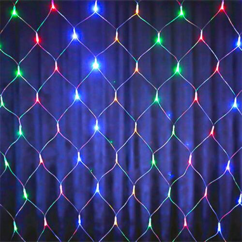LED Sieť na vnútorné použitie 1,6x1,2m viacfarebná
