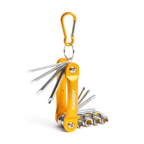 Sada skrutkovačov a nástrčných kľúčov praktická kompaktná