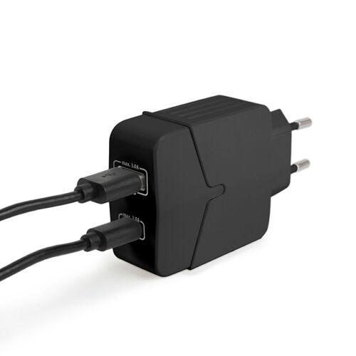 Sieťový adaptér USB Type C PD18W s rýchlonabíjaním čierny